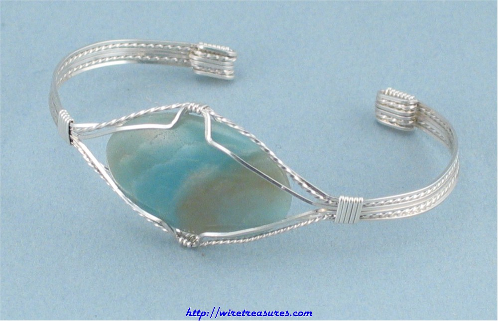 Selected Cabochon Cuff Bracelet