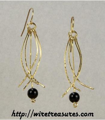 Knock 'em Dead Beaded Earrings
