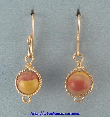 Mook Jasper Earrings