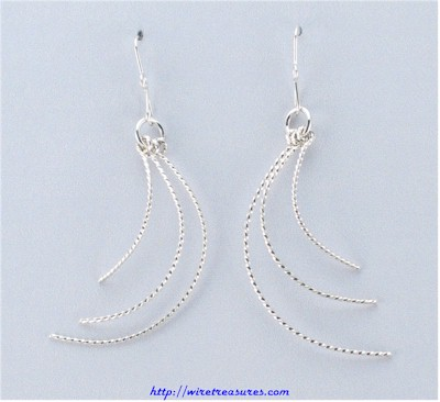 Crazy Wire Earrings