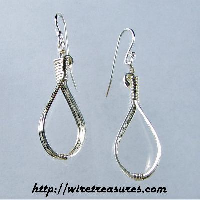 Long Loop Earrings