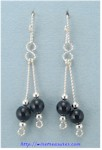 Ding-a-Ling Sterling Silver Earrings