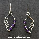 Amethyst and Sterling and Loops, Oh My!