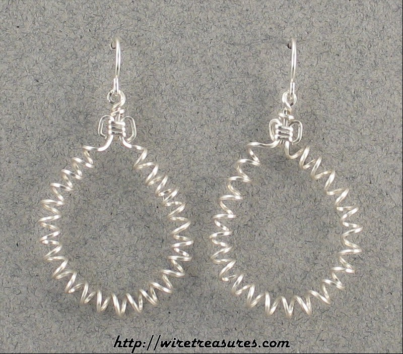 Curly Wire Earrings