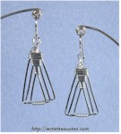 Nested Triangle Earrings
