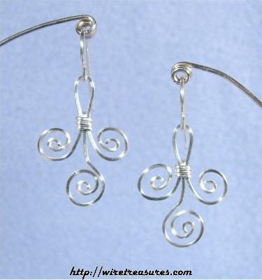 Triple Loop Earrings