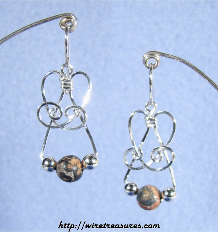 "Howlite ""Bead-in-a-Box"" Earrings"