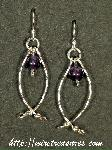 Hold-Me-Close Amethyst Bead Earrings