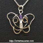 Butterfly Bead Pendants